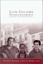 Low-Income Homeownership: Examining the Unexamined Goal-ExLibrary