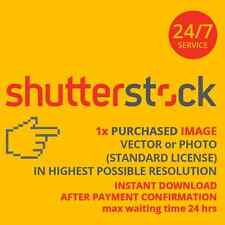 10x Shutterstock IMAGES (image/vector) in highest resolution. SUPER FAST