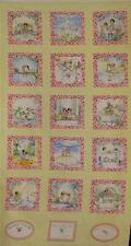 FRIENDS FOREVER BEST FRIENDS FLANNEL Cotton Fabric Panel for Quilting, Crafts