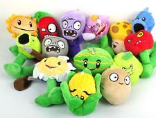 "Wholesale 5"" Plants VS Zombies Soft Plush Toy With Sucker A full 14 pcs/set gift"