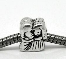Bride Groom Wedding Couple Lovers Bead for Silver European Style Charm Bracelets