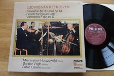 HORSZOWSKI VEGH CASALS Beethoven piano trio LP Philips 77059 Club Ed.
