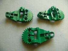 Lego 3 engrenages verts set 8505 8446 / 3 green Technic, Gearbox Half
