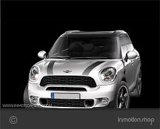 Streifen Stripes f. Mini Countryman R60 Cooper S One Works GP JCW Motorhaube