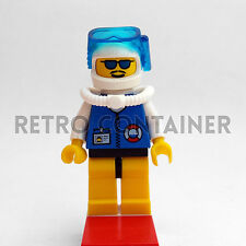 LEGO Minifigures - Coast Guard - res012 - Guardia Costiera Omino Set 6435