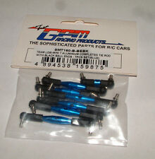 TEAM LOSI MINI-T GPM ALUMINUM TIE-ROD SET NEW BLUE SMT160