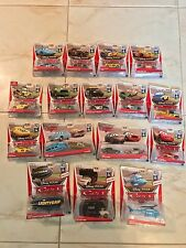 DISNEY PIXAR WORLD OF CARS PISTON CUP CHASE LOT BUNDLE SPUTTER STOP KING ELVIS