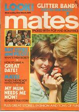 Mates Magazine 22 March 1975     Glitter Band     Sweet Sensation    Suzi Quatro