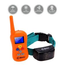Waterproof 330 Yard Dog Shock Training Collar with Remote Rechargeable 16 levels