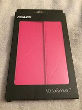 "Asus VersaSleeve  Case (Sleeve) for 7"" Tablet - Pink NEW"