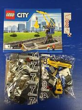 Lego Train City Heavy Haul Train Loading Station + Figures Mint 60098