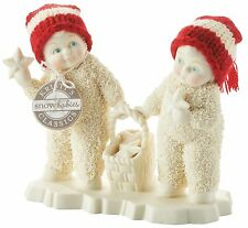 Dept 56 Snowbabies Finding Fallen Stars Figurine Ornament 12cm 4050069 New
