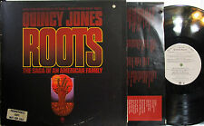 ROOTS  (TV Soundtrack) Quincy Jones, Letta Mbulu, Bill Summers (PL) (w/a Poster)