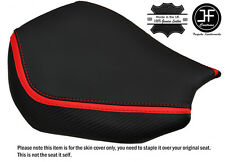 DESIGN 2 RED STRIPE CUSTOM FITS KAWASAKI ZX10 R 1000 04-05 FRONT SEAT COVER