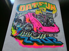 Vintage  DATSUN 240Z   Iron-On Transfer by Roach Classic