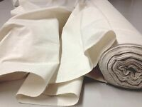 100% NATURAL COTTON CALICO MEDIUM WEIGHT CRAFT FABRIC Sold Per METRE 152cm Wide