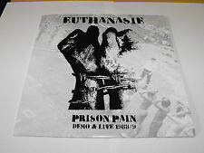 "EUTHANASIE - ""Prison Pain"" LP. German anarcho punk."