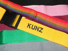 Personalized Luggage Strap- Pick your color!
