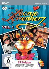 Leonie Löwenherz Vol. 1 * DVD 15 Folgen Henning Schlüter Maria Ketikidou Pidax