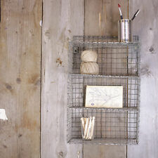 Small Locker Wall Hanging Shelf Display Shabby Chic Vintage Industrial Style