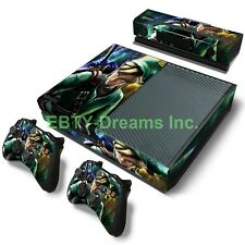 Zelda Link Triforce Video Game Skin Sticker Decal Protector for Xbox One