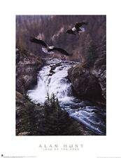 Land of the Free By Alan Hunt Eagles, Print 12x16