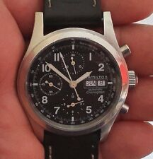 Hamilton Wrist Watch 041531 Automatic Chronograph Day/Date Tachymeter 42mm