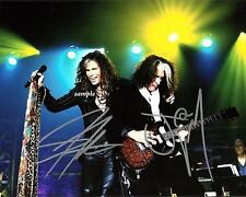 STEVEN TYLER JOE PERRY AEROSMITH REPRINT AUTOGRAPHED SIGNED PICTURE PHOTO RP