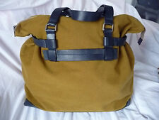 DAKS Brand New Camel coloured signature  large bag