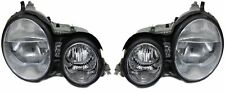 Front headlights with servo motor for xenon lights for Mercedes W210 E 95-99