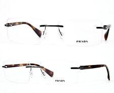 Prada Fassung / Brille / Glasses VPR55O 54[]17 5AV-1O1 140 Nonvalenz /56 (3)
