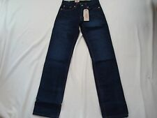 Men Levis 514 Straight  Leg, Zip Fly Dark Wash  Jeans Size 26 X30 NWT