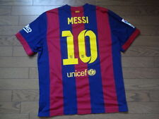 FC Barcelona #10 Messi 100% Original Jersey 2014/15 Home XL Sold Out Kit