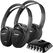 Power Acoustik HP22IRT Headphones Swivel Earpad 1 Ch. Ir W/Transmitter