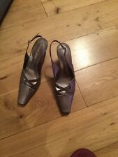All Leather Lisa Kay Pewter Colour Size Uk5.5