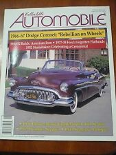Aug 1995 Collectible Automobile Mag Humber Seagrave Flathead Studebacker Pierce