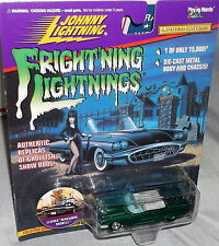 1997 Johnny Lightning Green Elvira '59 T-Bird Macabre Mobile Series 3 1-15K w/RR