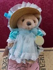 Bearly People Bear 1991 Robyn Rose In Original Box 12 Inches Dressed Bear