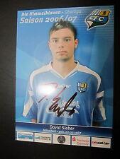 1411 Chemnitzer FC CFC David Sieber 2006 - 2007 original signierte AK