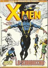 fanzine LO SCARABOCCHIO n° 3 (1996) index X-MEN - Guida al mercato dei fumetti