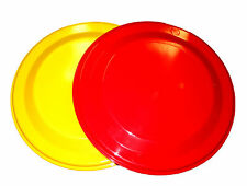 2 Flyers 1 ea Red & Yellow Formulated For Dogs Made in America Lead Free No BPA