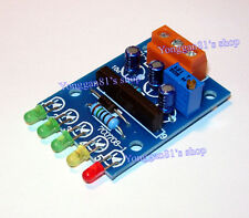 DC 5V-12V Audio Level Indicator VU Meter / Power Meter 5-LED Level Indicating EW