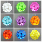 light shade kit Retro Puzzle lampshade ceiling Lantern Pendant 25cm Small Colour