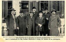 47.Tonkünstlerfest in Danzig Vorstand u.Dirigenten Historische Aufnahme von 1912