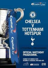 * CHELSEA v TOTTENHAM HOTSPUR - 2015 CAPITAL ONE CUP FINAL OFFICIAL PROGRAMME *