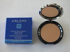ORLANE COMPACT CAKE FOUNDATION DUAL EFFECT WET/DRY 05 AMBRE 0.31 OZ - NIB
