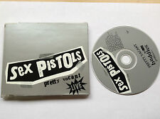 SEX PISTOLS - PRETTY VACANT LIVE 4 TRK CD -