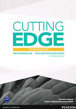 CUTTING EDGE Pre-Intermediate THIRD EDITION Teacher's Book w Resource Disc @NEW@