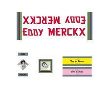 Eddy Merckx Faema Theme Bicycle Decals, Transfers, Stickers n.100