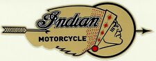 """INDIAN MOTORCYCLE"" Vinyl Decal Sticker SCOUT CHIEF HOG CAFE RACER CHOPPER"